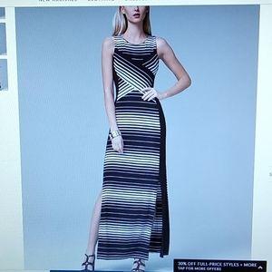 WHBM sleeveless maxi dress
